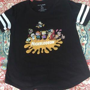 Retro/90's Nickelodeon graphic tee
